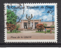 ##29, Congo, 1988, Place De La Liberté, Liberty, Monument, Chaînes, Chains, Fontaine, Fountain, Esclavage, Slavery - Used
