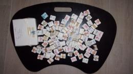 BOTTE De 100 Timbres - BUNDEL Van 100 Zegels - +/- 150 Bottes - Variétés - Oblitérations - Varieteiten - Stempels - 1981-1990 Velghe