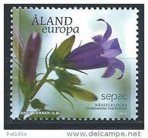 Aland 2014 N° 391 Neuf Sepac Fleur - Aland