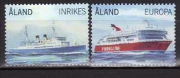 Aland 2009 N°312/313 Neufs Bateaux Paquebots - Aland