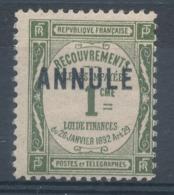 N°43-C 11 ANNULE  NEUF* - Lehrkurse