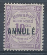 N°44-C 11 ANNULE  NEUF* - Lehrkurse