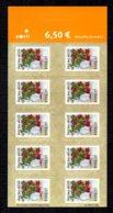 FINLANDE 2003 - Yvert N° 1630 - Facit 1664 - Neuf ** / MNH - FEUILLET 10 Valeurs - Flore, Baies, Airelles - Markenheftchen