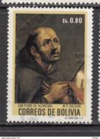 ##29, Bolivie, Bolivia, San Pedro, Religion, Peinture, Painting, Holguin - Bolivie