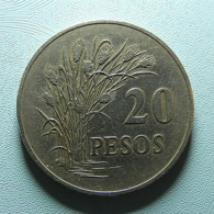 Guiné-Bissau 20 Pesos 1977 - Guinea Bissau