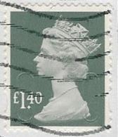 GB 2017 Machin £1.40 M17L MAIL Good/fine Used [39/31951/ND] - 1952-.... (Elisabetta II)