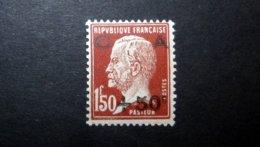 FRANCE 1929 N°255 * (CAISSE D'AMORTISSEMENT 3ÈME SÉRIE. PASTEUR. +50C SUR 1F50 ROUGE-BRUN) - Caisse D'Amortissement