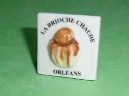 Fèves / Autres / Divers / Alimentation : La Brioche Chaude , Orléans , Perso      T119 - Santons/Fèves