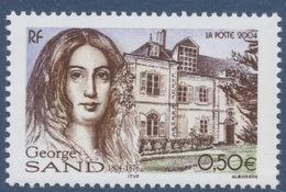 N° 3645 George Sand Faciale 0,50 € - Unused Stamps