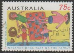 AUSTRALIA - USED 1994 75c International Year Of The Family - 1990-99 Elizabeth II