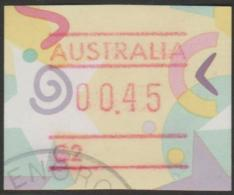 AUSTRALIA - USED 1996 45c Festive Frama Paper - 1990-99 Elizabeth II