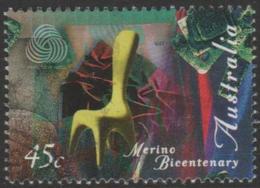 AUSTRALIA - USED 1997 45c Wool Awards - Merino Bicentenary - 1990-99 Elizabeth II