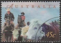 AUSTRALIA - USED 1998 45c Farming - Beef Cattle - 1990-99 Elizabeth II