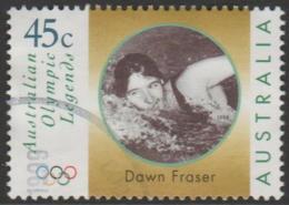 AUSTRALIA - USED 1998 45c Olympic Legends - Dawn Fraser - Swimming - 1990-99 Elizabeth II