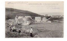 14 - SAINTE-HONORINE Sur MER - Le Vieux Moulin Et Arrivée à La Mer - Animée - 1906 (F53) - France