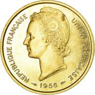 Monnaie, Togo, 25 Francs, 1956, Paris, ESSAI, SUP+, Aluminum-Bronze, KM:E8 - Togo