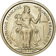 Monnaie, Nouvelle-Calédonie, 50 Centimes, 1949, Paris, ESSAI, SPL - Nouvelle-Calédonie