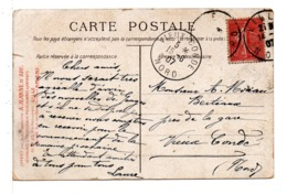 CPA - FRANCE - CACHET : VIEUX CONDÉ (NORD) Sur Carte Postale Repas Des Marins - 1877-1920: Periodo Semi Moderno