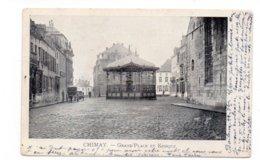 BELGIQUE - CHIMAY - Grand'Place Et Kiosque - Animée - 1903 (F63) - Chimay
