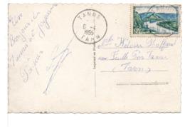 CPA - FRANCE - CACHET : TANUS (TARN) Sur Carte Postale Pâques - 1877-1920: Periodo Semi Moderno