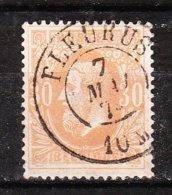 33  Emission De 1869 - Bonne Valeur - Oblit. DC FLEURUS - LOOK!!!! - 1869-1883 Léopold II
