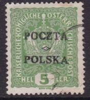 POLAND 1919 Krakow Fi 31 Forgery Used (checked By Jungjohann/falsch) - Gebruikt