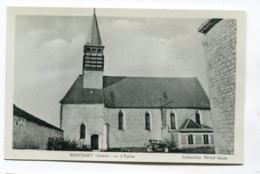 CPA  02 : BONCOURT   église  A  VOIR   !!!! - Frankreich