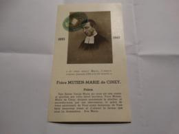 Frère Mutien-Marie De Ciney . 1895-1940. Prière. - Religion & Esotérisme