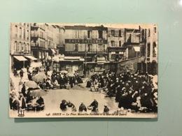 BREST - La Place Marcellin-Berthelot Et Le Marché Au Beurre - Brest