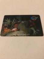 St Eustatius - Chip Card Underwater Scene - Antillen (Nederlands)