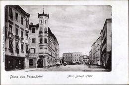 Cp Rosenheim Oberbayern, Max Joseph Platz - Alemania