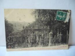 61. MONTBARD  21 COTE D'OR BOURGOGNE LA VILLA DES FLEURS AU COUARD CURIEUSES ORIGINALITÉ CPA 1911 - Montbard