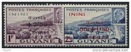 Inini, N° 57 à N° 58** Y Et T - Unused Stamps