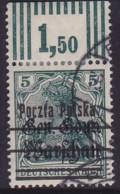 POLAND 1918 Warsaw Provisional Ovpt Fi 7 T.II Used - Gebraucht