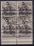 POLAND 1918 Provisional Ovpt Fi 8 Used - Gebraucht