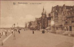 Blankenberge Blankenberghe 1927 La Digue Et Les Villas De Dijk CPA Oude Postkaart Kust - Blankenberge