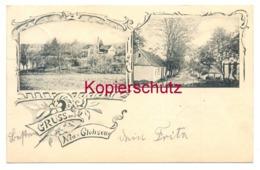 Neuglobsow 1900, Amt Gransee, LKr. Oberhavel Nach Berlin-Hohenschönhausen - Gestempelt In Menz - Gransee