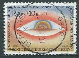 België OBP Nr: 2000 Gestempeld / Oblitéré - Internationaal Jaar Der Gehandicapten - Belgium