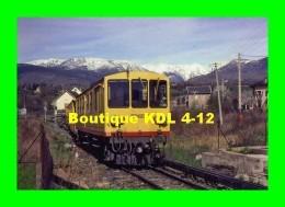 AL 359 - Automotrice Z 113 Arrivant En Gare - BOURG MADAME - Pyrénées Orientales - 66 - SNCF Cerdagne - - Treni