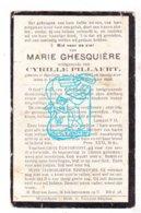DP Marie Ghesquière ° Houthem Komen-Waasten 1887 † Voormezele Ieper 1928 X Cyrille Pillaert - Images Religieuses