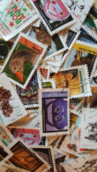 Lot 200 Timbres Différents Avec 7 Séries Récentes 2018/2019 - Used Stamps