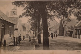 Westkapelle (gem. Veere - Zld.) Zuidstraat Ca 1900 Pets Roest Aan Rand - Westkapelle