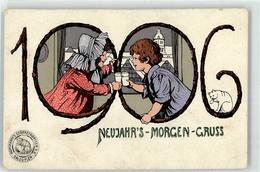 53093158 - 1906 Kind Neujahr Werbung Hoffmanns Staerkefabriken - Anno Nuovo