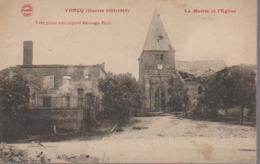 VONCQ - LA MAIRIE ET EGLISE - Andere Gemeenten