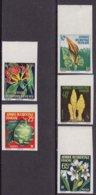 "1958-(MNH=**) Africa Occidentale Francese S.5v.non Dentellati ""Fiori""catalogo Yvert Euro 38. - A.O.F. (1934-1959)"