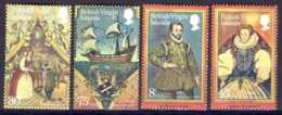 "1980-(MNH=**) British Virgin Islands S.4v.""Sir Francis Drake"" - British Virgin Islands"