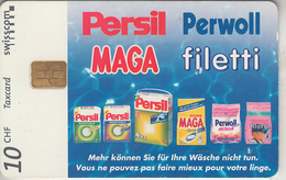 SUISSE - PHONE CARD - TAXCARD-PRIVÉE - CHIP   *** PERSIL  *** - Suisse