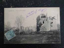 MACHECOUL - LOIRE ATLANTIQUE - RUINES DU VIEUX CHATEAU - Machecoul