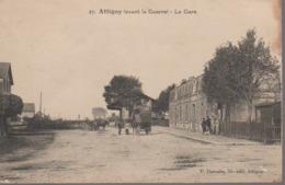 ATTIGNY -   LA GARE - Attigny