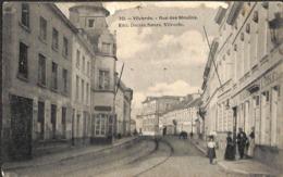 Vilvorde - Rue Des Moulins (animatie Estaminet Bertels... Maar ZIE Bovende Kant....) - Vilvoorde